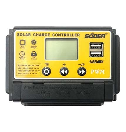PWM SUOER solar charge controller
