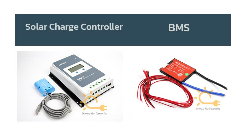 solar charge controller และ BMS