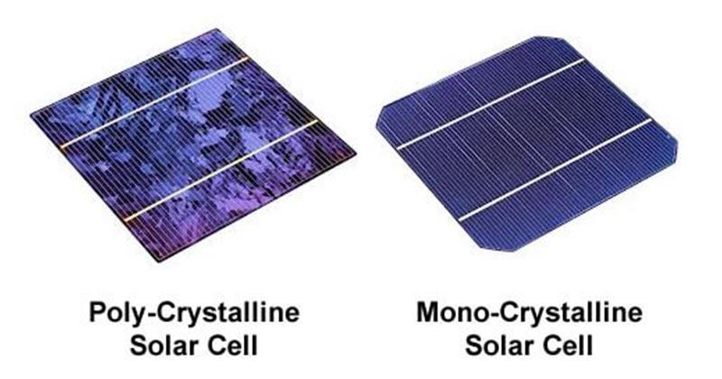 เปรียบเทียบชนิดโซล่าเซลล์